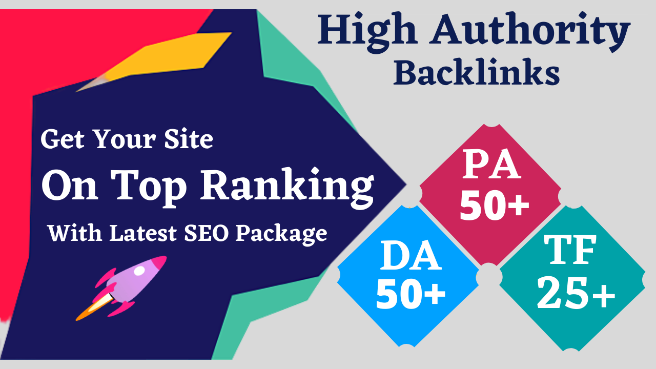 Shoot Your Website Into Top Google Rankings With My High Quality Backlinking Package