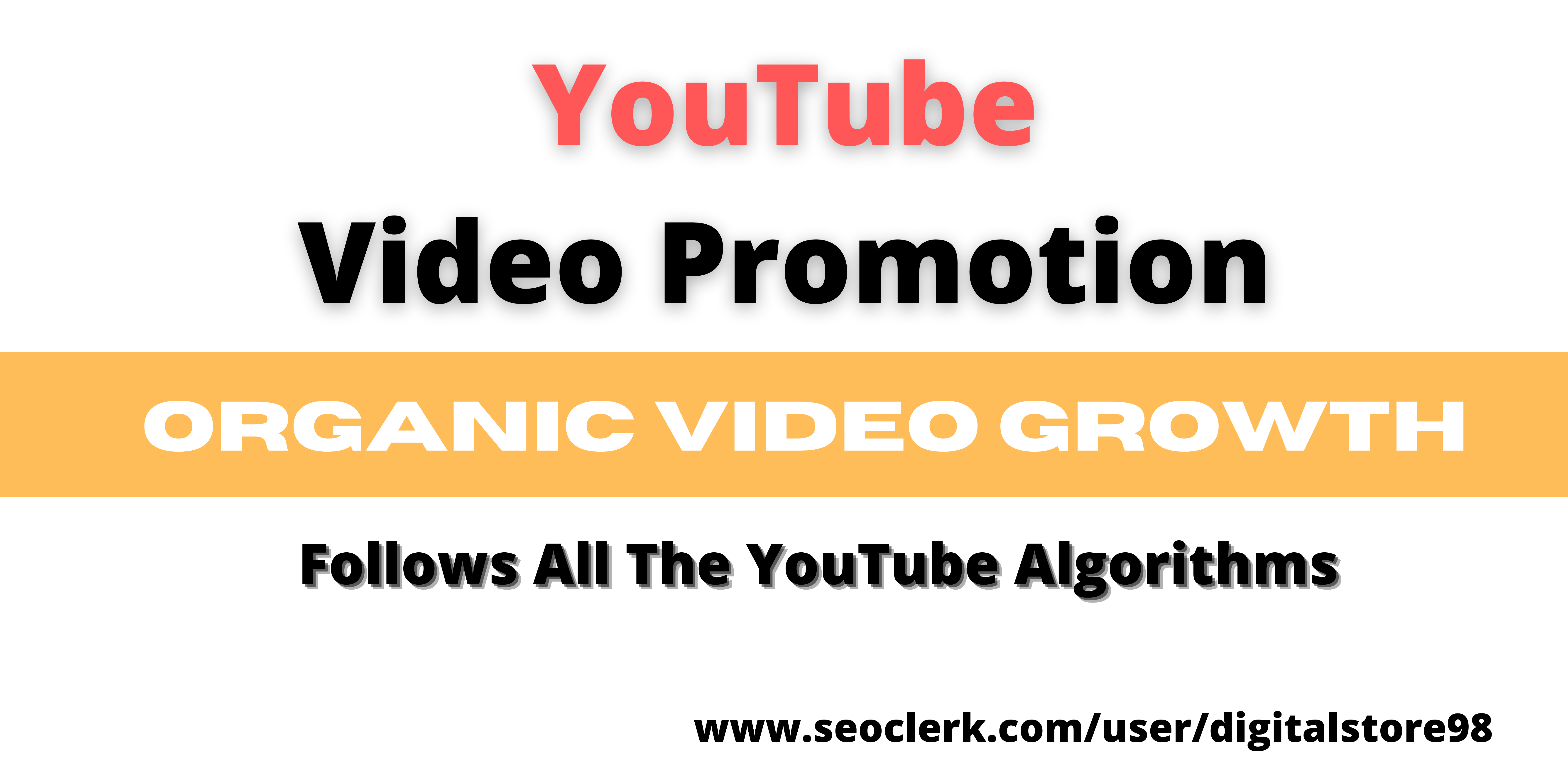 Organic YouTube Video Promotion & Safe USA Targeted Audience