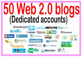 I Will Build 50 High Quality Web2.0 Blog Backlinks With High DA PA Domains