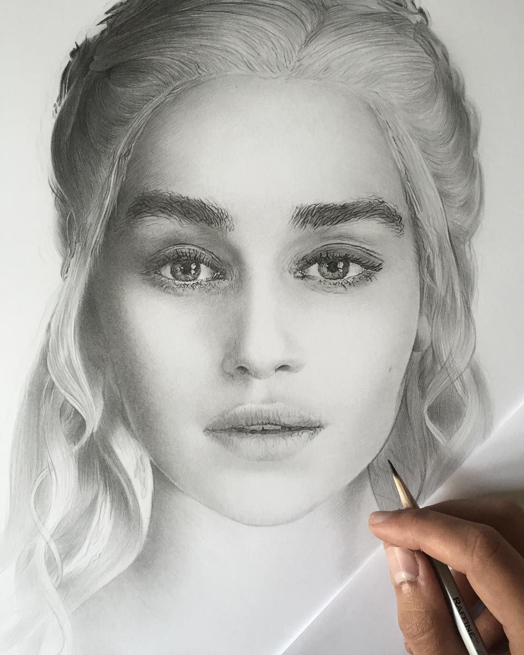 I will draw your portrait highly detailed pencil portrait