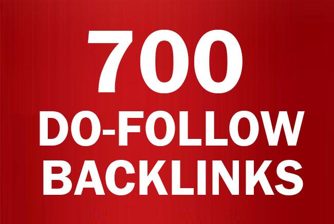 700+ Do follow Dofollow Backlinks high PR-0 - PR-9 And DA 80+ / Blast Your SEO Ranking