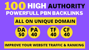 premium 100 PBN Backlink homepage web 2.0 with permanent dofollow & High DA/PA