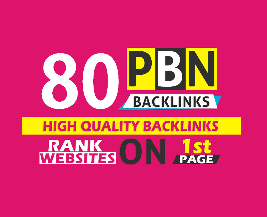 80+ manual web2.0 backlinks with High DA/PA on your Homepage in unique website