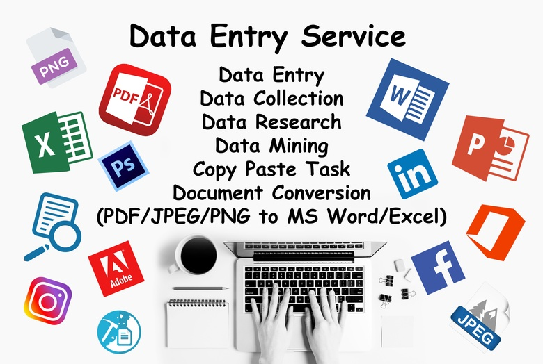 I will Do All Types Of Data Entry in reasonable price