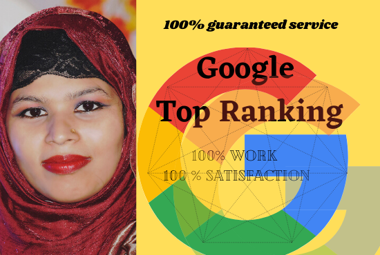 I will do Google Top Ranking of your respective website with White Hat SEO
