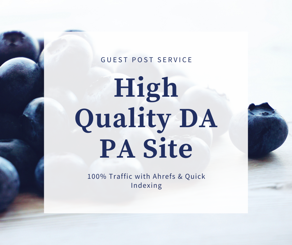 I will do premium guest posts on high authority site for Niche Site