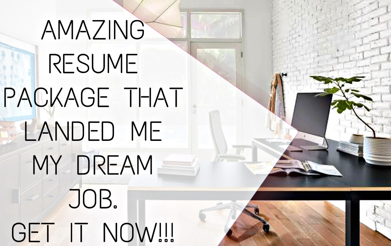 Get an exceptional resume and your dream job awaits you