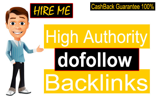 I will build high authority seo dofollow backlinks to boost your site