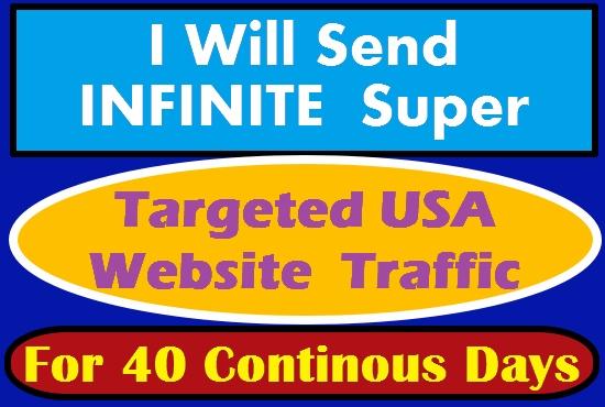 I Will Post Targeted Web Traffic On High Ranking Social Media Platforms