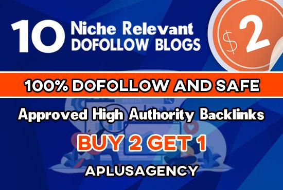 Provide 10 Dofollow Niche Relevant Blog Comment SEO Backlinks