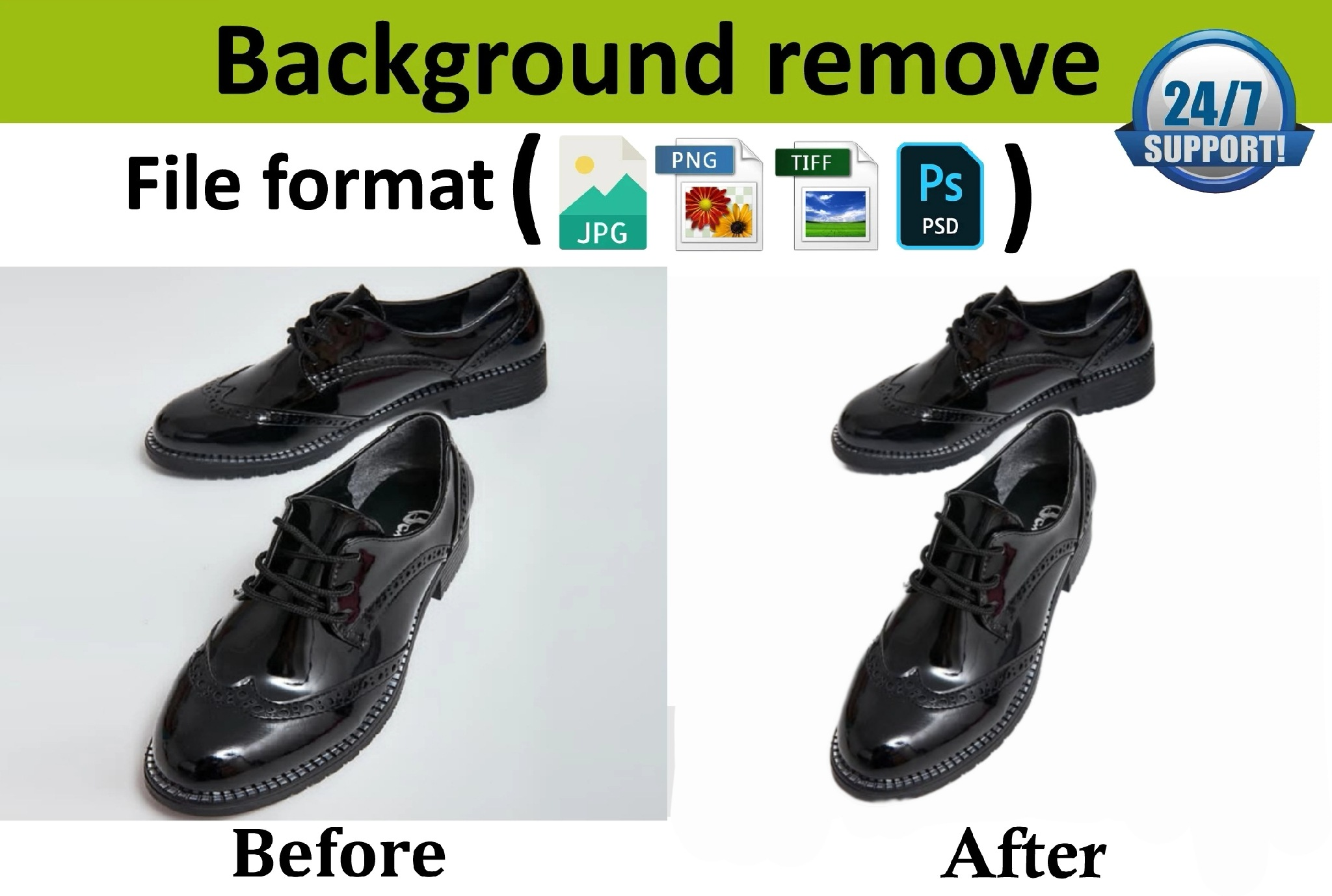 I will do remove your 10 product photos background professionally
