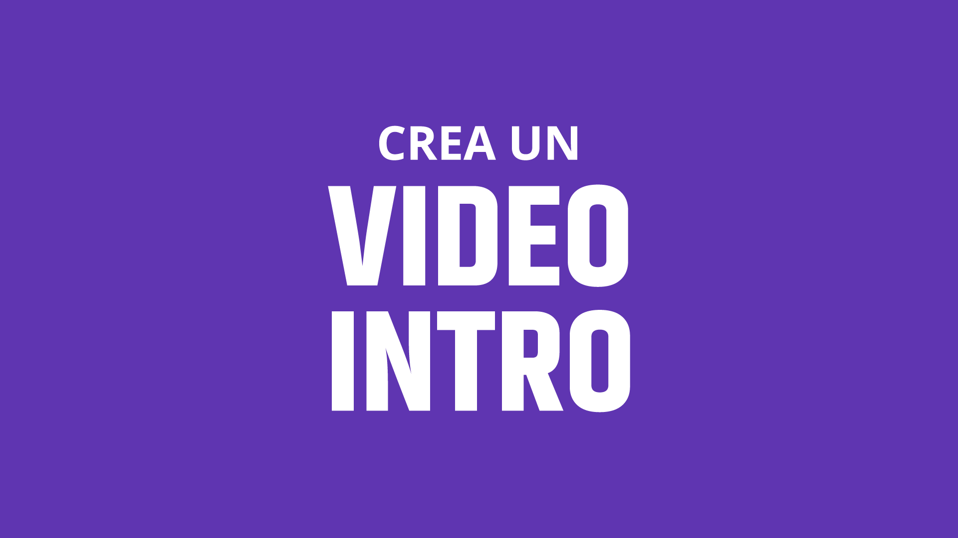 video intro & outro service for videos.