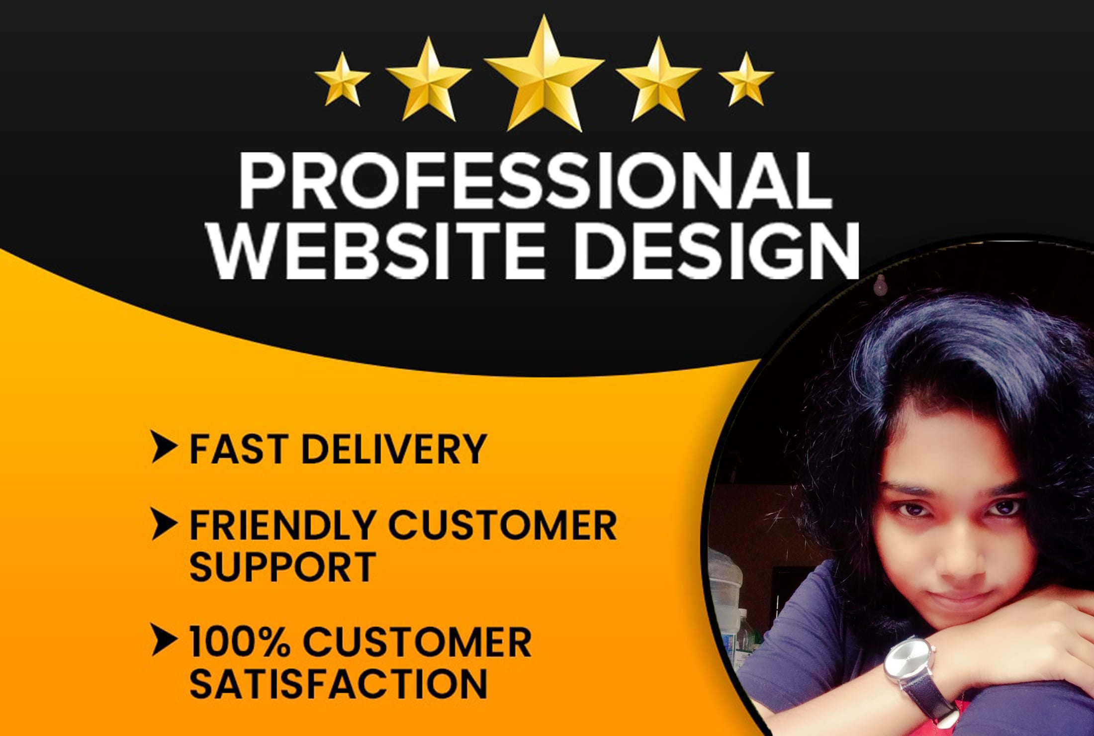 I will create a responsive and professional wordpress website