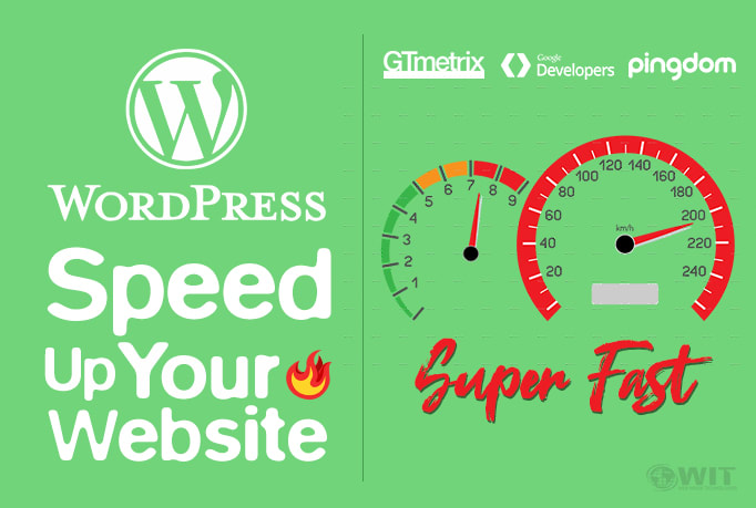 Increase wordpress website speed optimization with gtmetrix