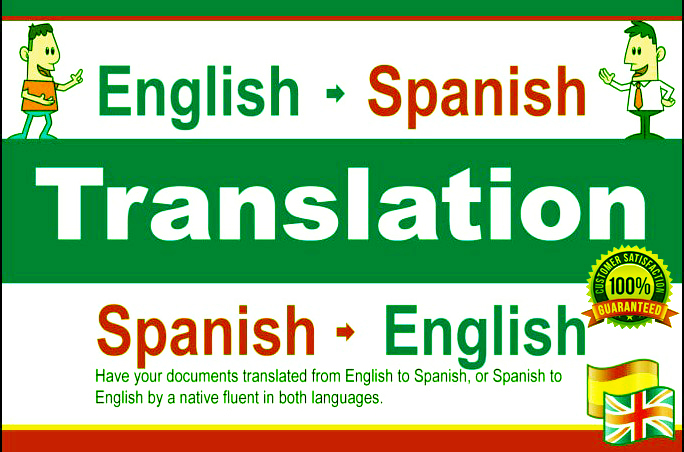 I will expertly provide top quality translate English to Spanish or Spanish to English to Spanish a