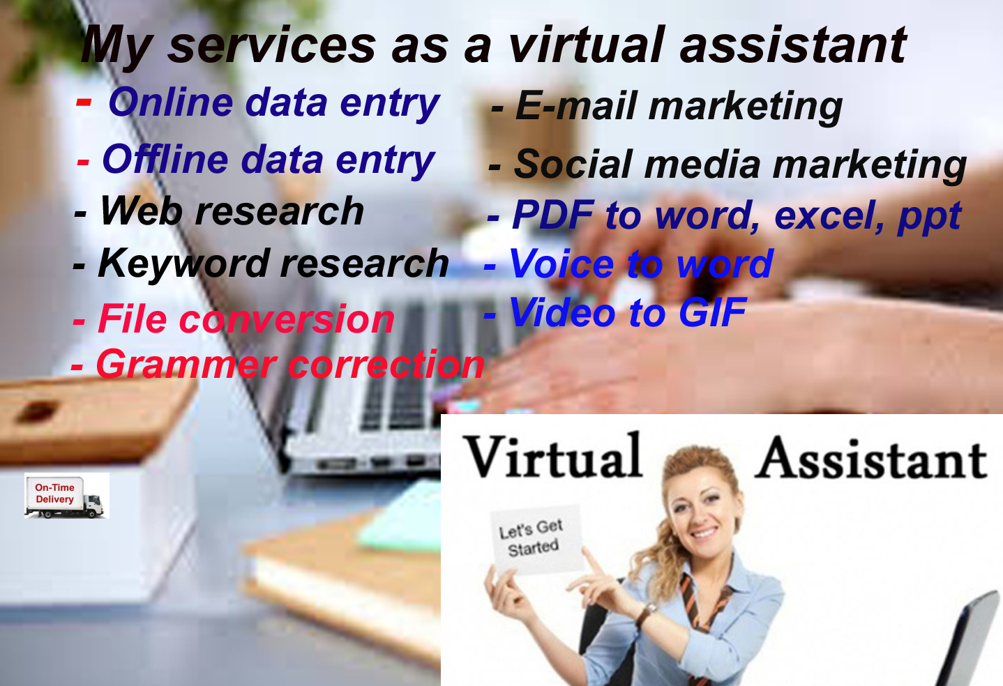 Virtual assistant all services in one place