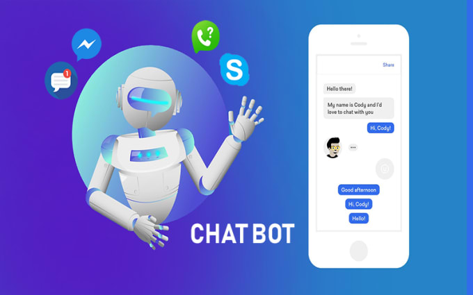 I will build an chat bot for your website