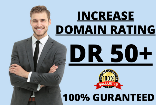 I will increase your website Ahrefs Domain Rating DR 50+ Guaranteed