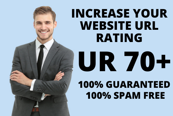 I will increase your website Ahrefs URL Rating UR 70+ Guaranteed