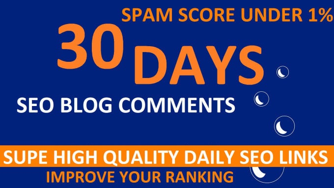 I will Do 30 Days Drip Feed SEO Backlinks Service For Daily Update