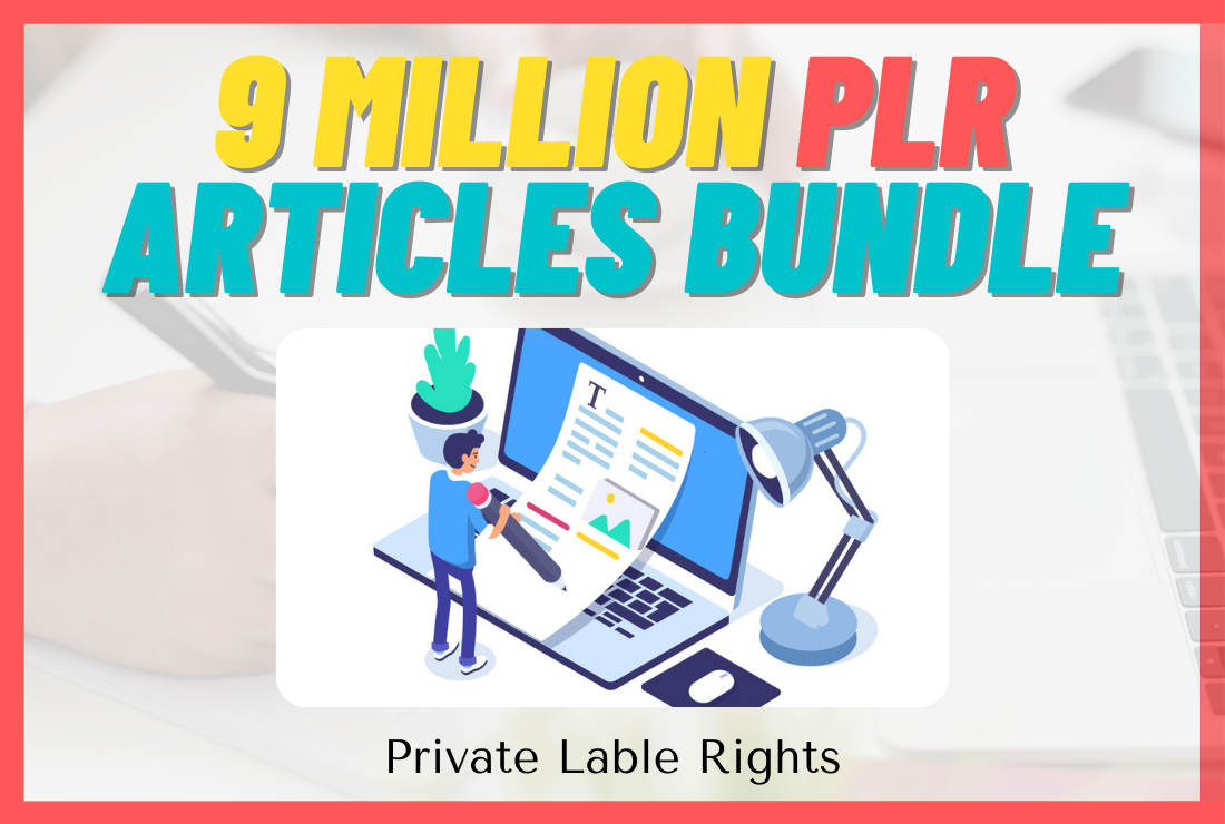 09 Million PLR Articles Mega Bundle