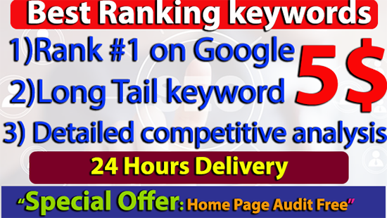 I Will Provide best Ranking Competitor's SEO keywords within 24 hours