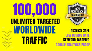 SKYROCKET 100,000 Traffic Worldwide Website Real Promotion From TOP Social Media for