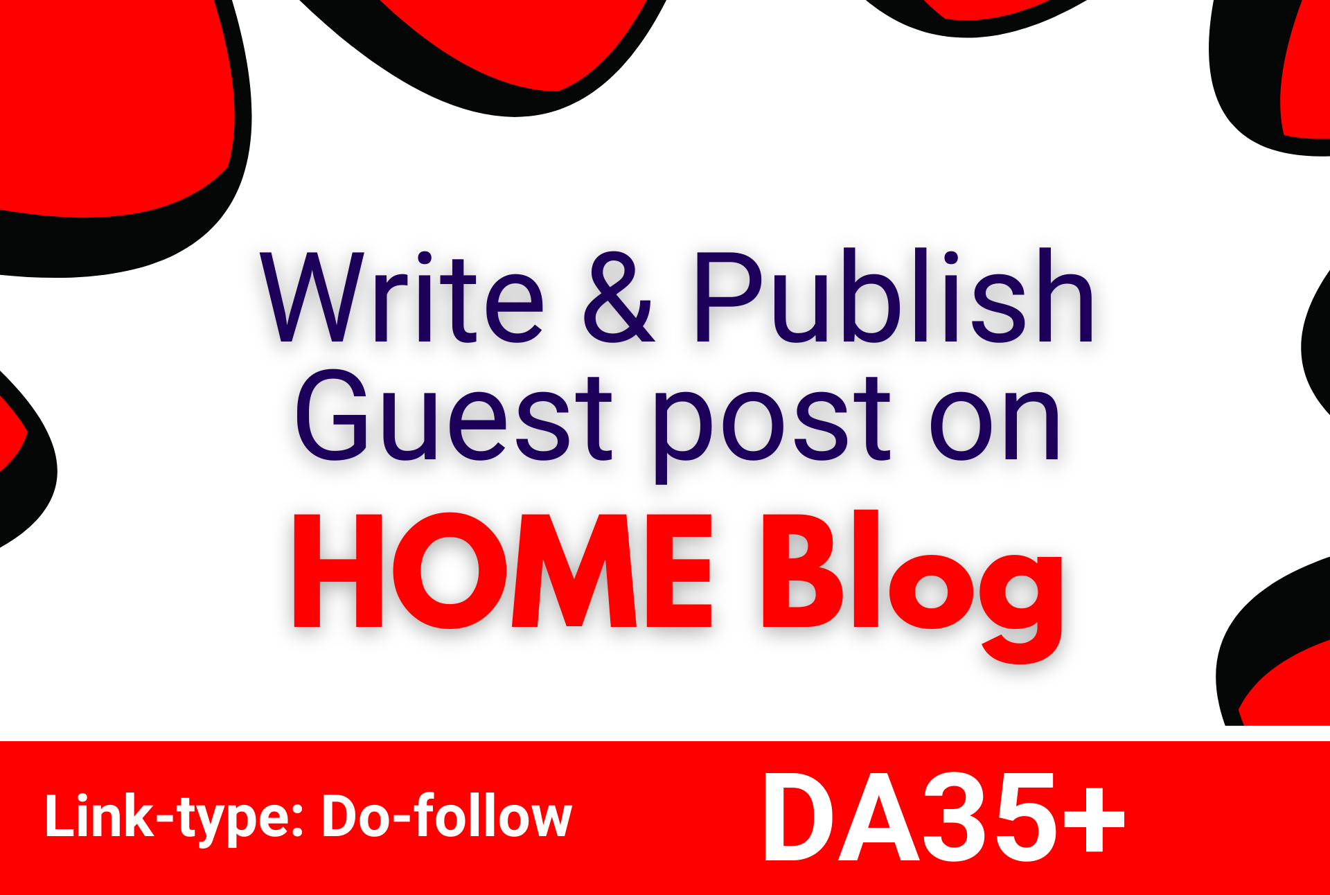 I will do guest post on home blog