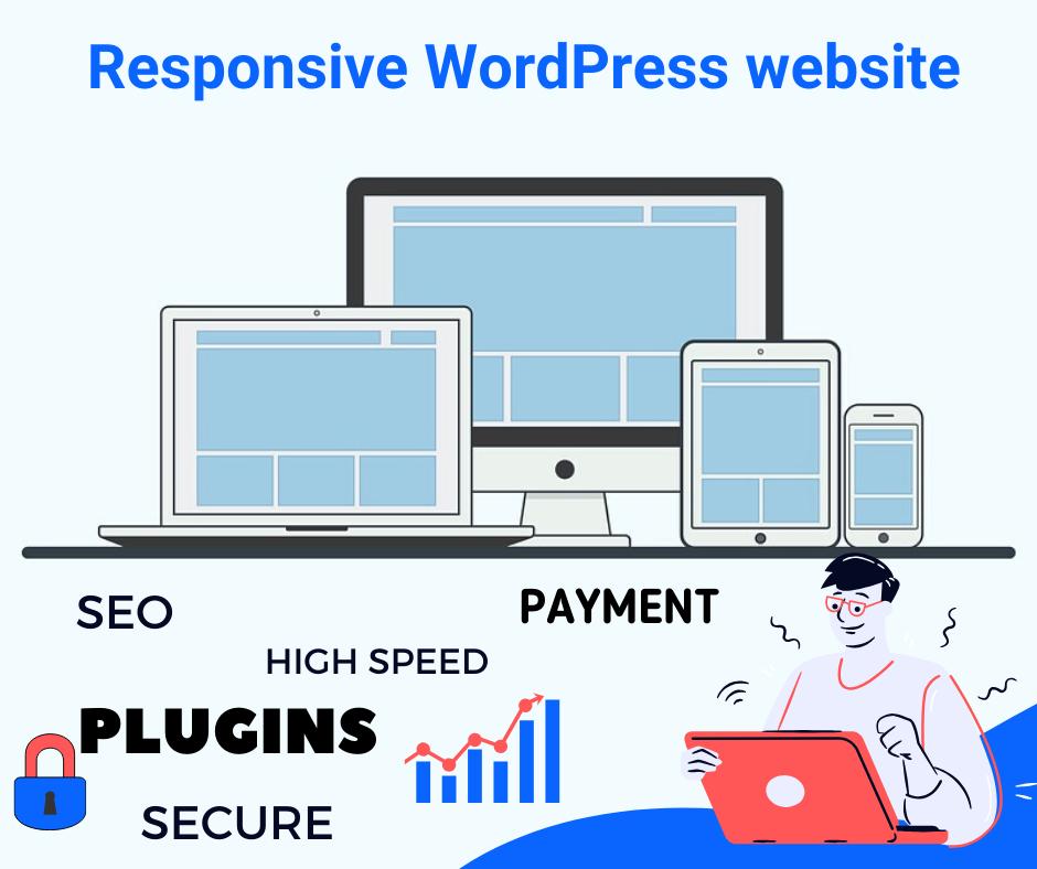 SEO friendly Responsive WordPress website designer