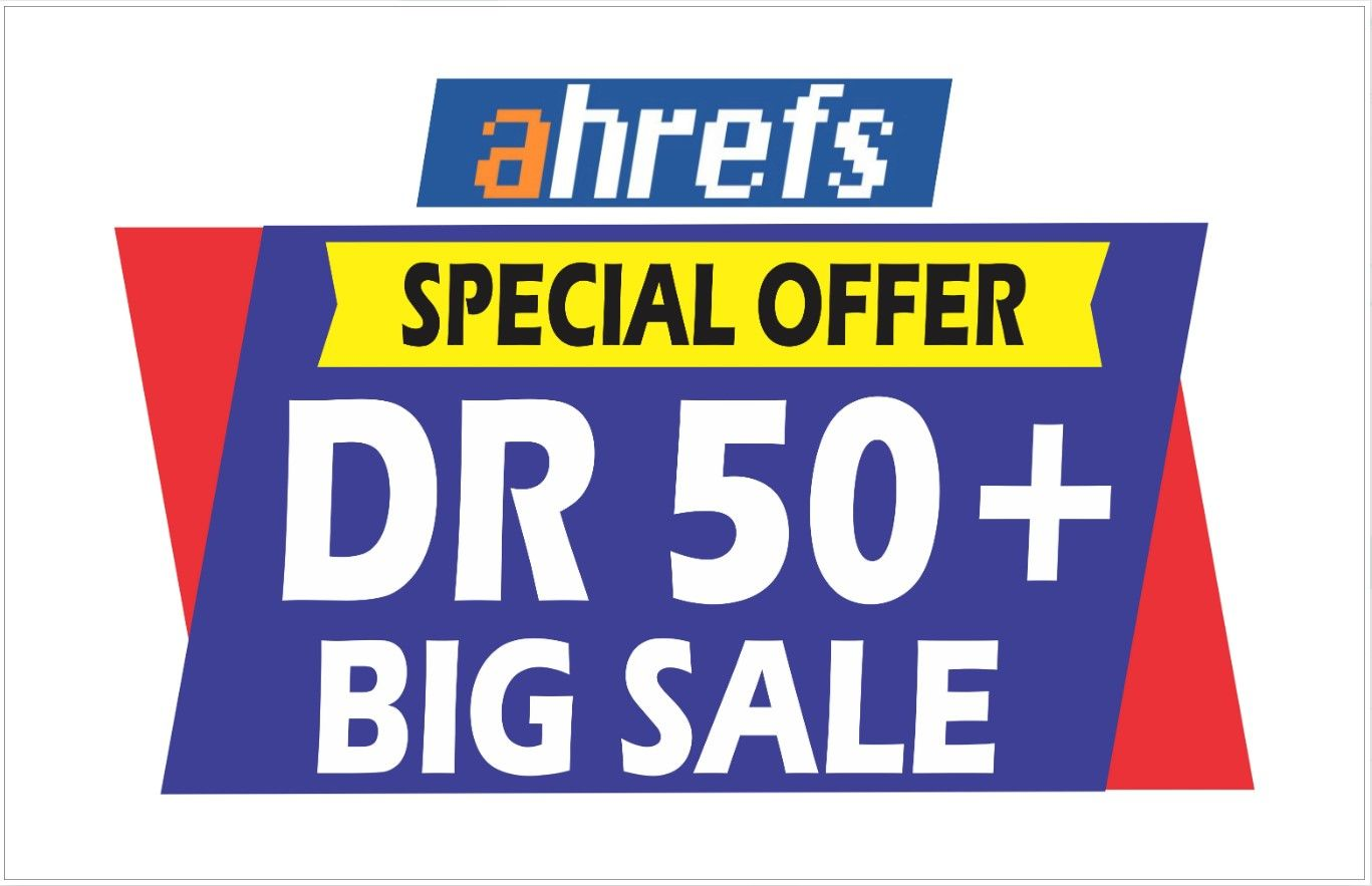 i weel do increase domain rating DR ahrefs domain trust authority