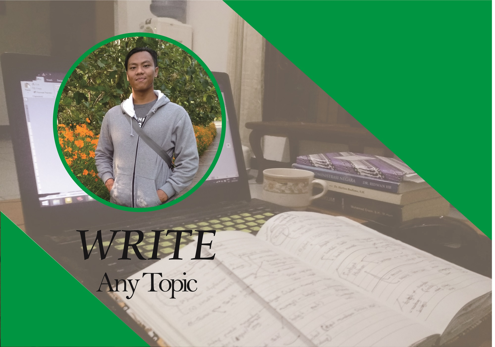 I will make any types of writting for you. especially essay,  summary,  pers release,  and etc.