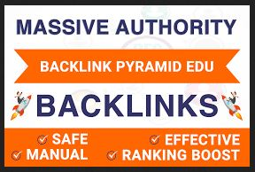 High Authority Manual 3 Tier Link Pyramid