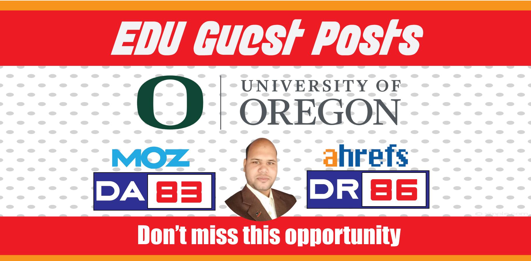 Guest Post on 'University of Oregon' Blog - DA83,  DR86