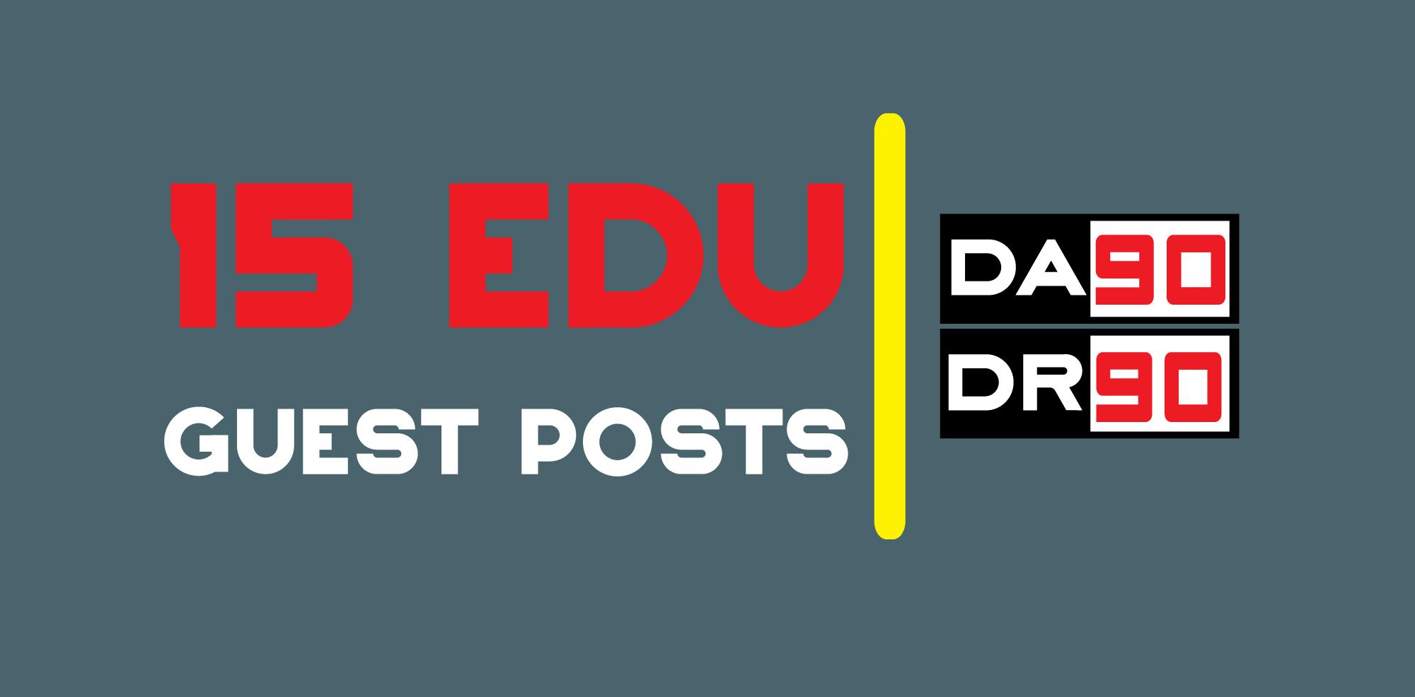 15 EDU Guest Posts on Top USA Universities