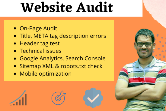 I will Audit Your Website and provide a Detailed Report