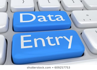Any kind of Data entry work,  virtual assistant,  form filling etc.