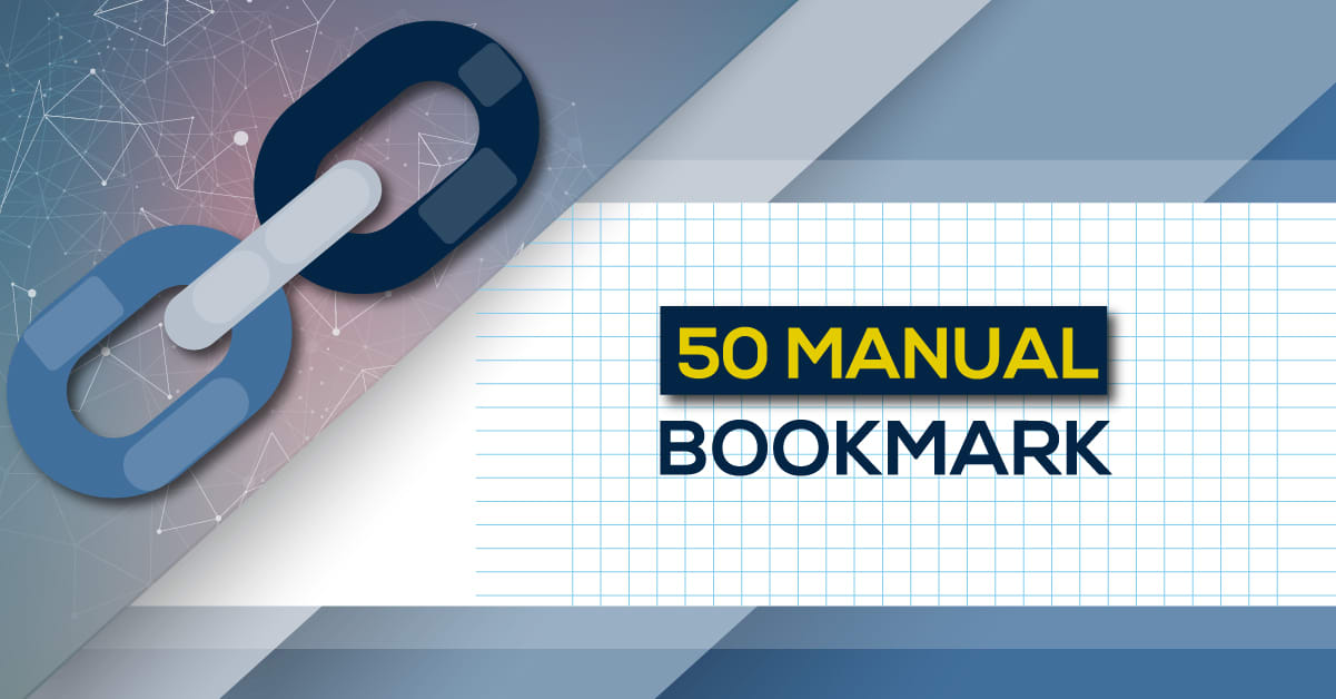 I will manually 50 bookmark submission backlinks,  high pa da cf tf