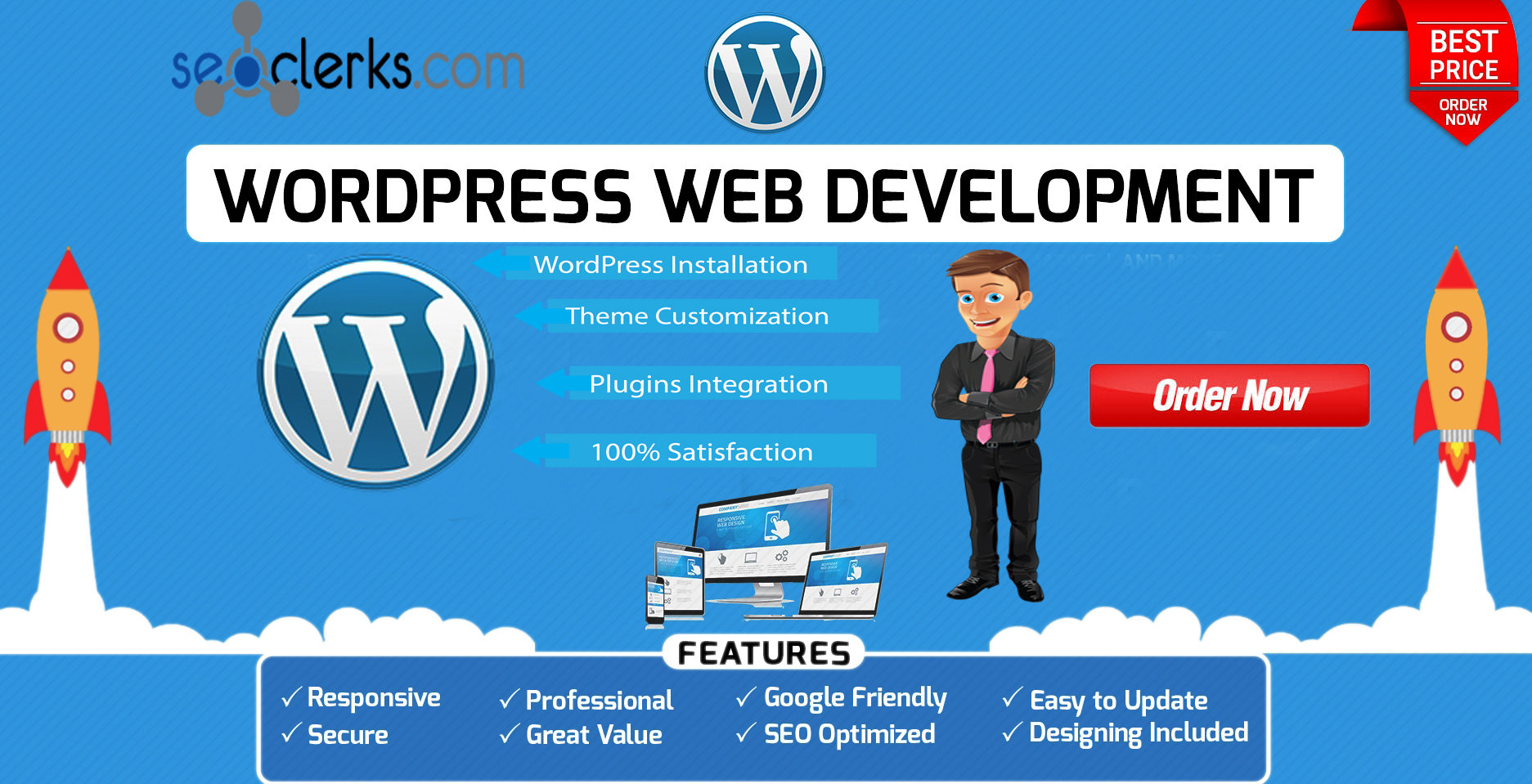 I will Customize & Redesign your wordpress website with any kind of theme