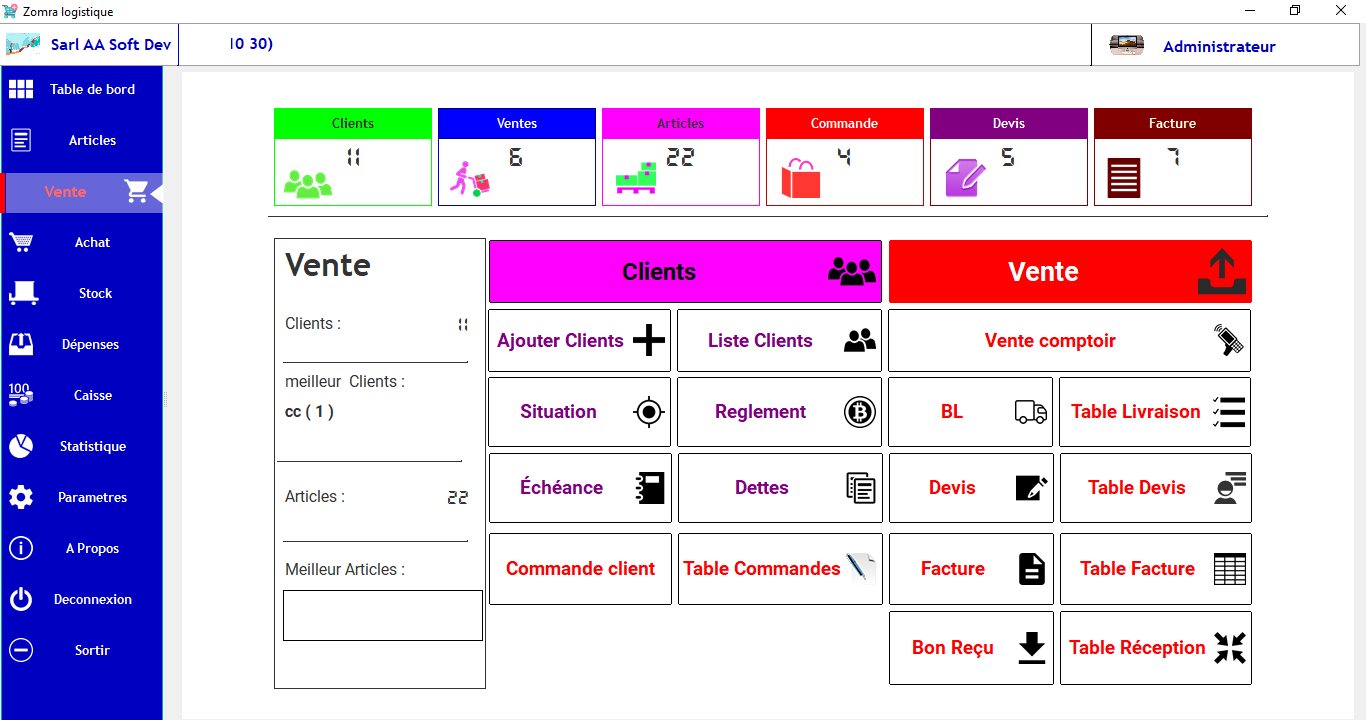 Commercial Management Software