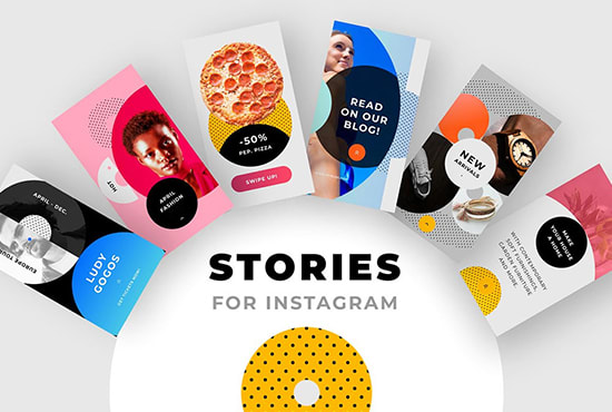 I will design instagram posts and stories