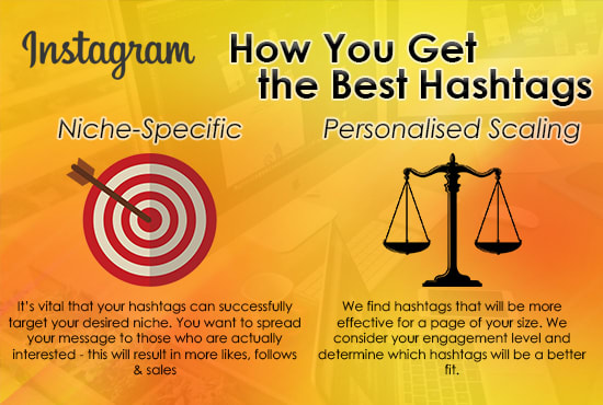 I will research and find the best hashtags to grow your instagram