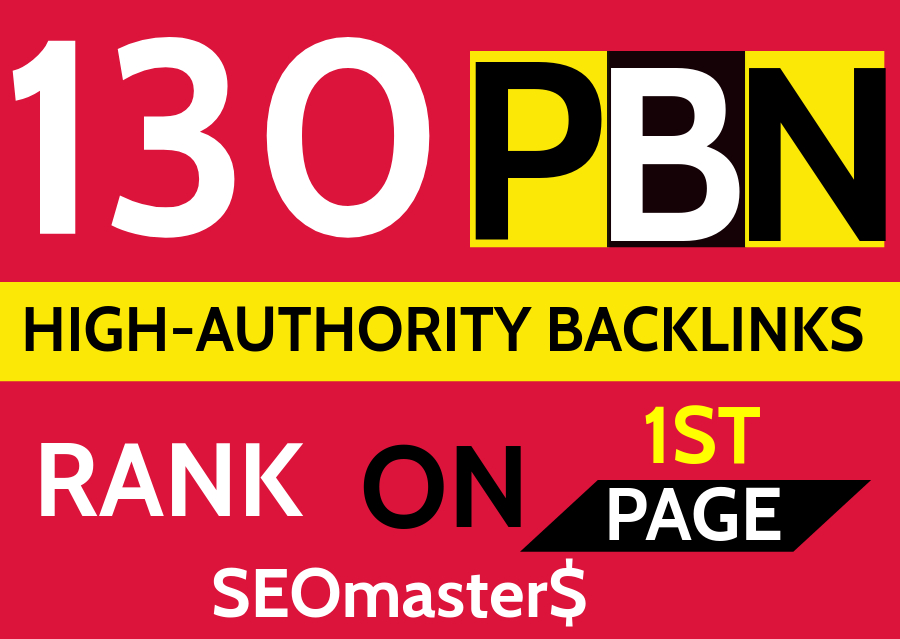 130 Permanent PBN DR 70 High Authority Homepage Do-follow Backlinks - Highly Recommended