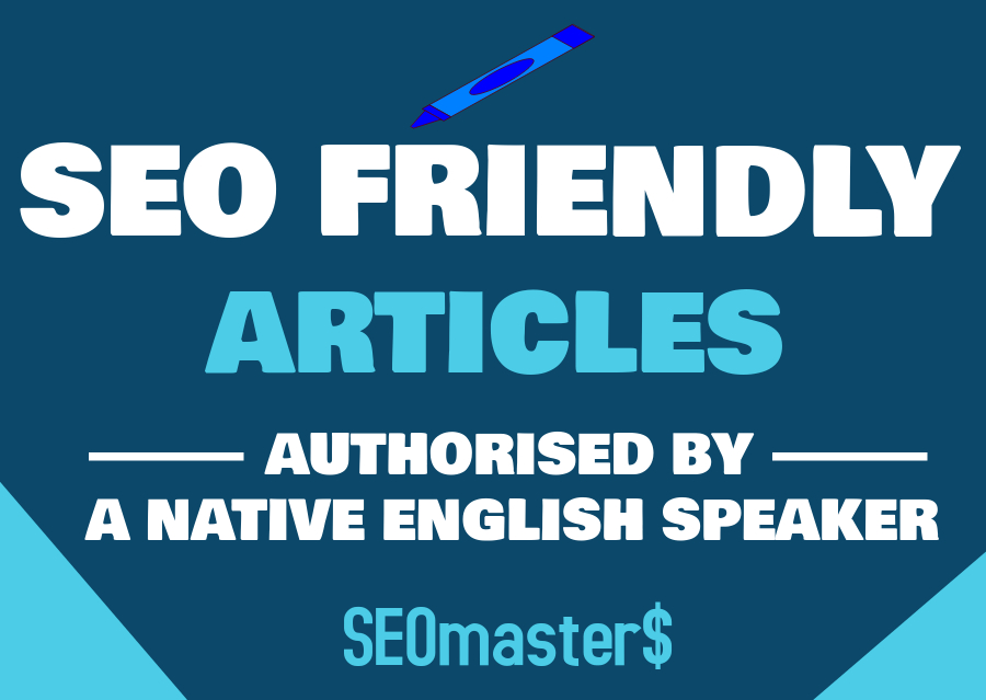 I Will Write 5 ARTICLES each of 500 Words that are SEO Friendly