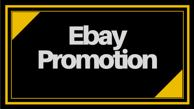 I will promote your ebay listing