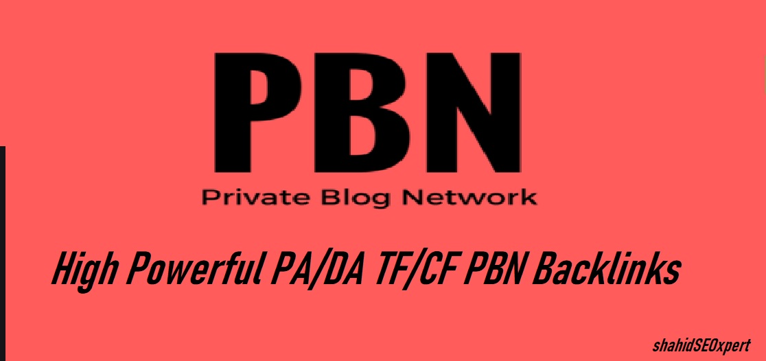 50 Backlinks Accepting 5 URL And 10 Keywords High Power DA 20 To 50+ PBN permanent Backlinks