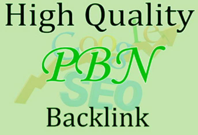 Build 15 Da 20 to 50+ PBN Backlinks High Quality Backlinks Dofollow