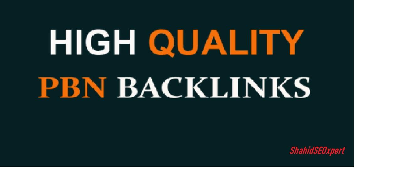 5 High PA/DA TF/CF PBN permanent Backlinks