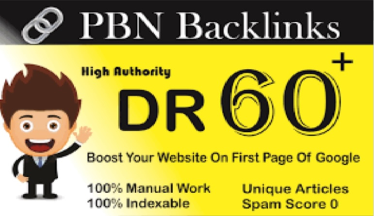 Build 12 Permanent DR 45 to DR 67+ with image and h1 h2 h3 Homepage PBN Dofollow Backlinks