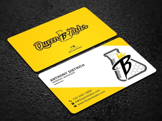 I will create a professional and modern business card design