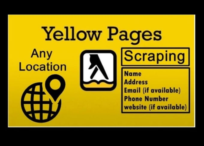 I will provide 1000 data from yellow pages by data scraping for your business